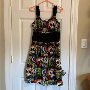 Halloween Monster Mash Boutique Dress